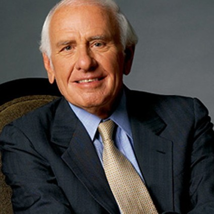 JIM ROHN, entrepreneur and writer