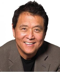 ROBERT KIYOSAKI, businessman, investor and writer